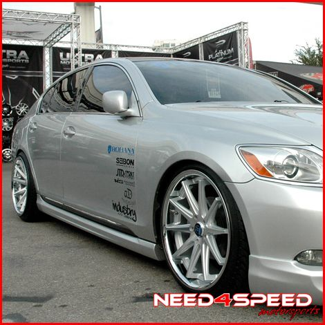 GS400 GS430 GS Rohana RC10 Concave Silver Staggered Wheels Rims