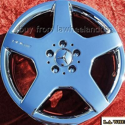 NEW 18 MERCEDES BENZ S500 S430 S600 AMG OEM CHROME WHEELS RIMS 65309
