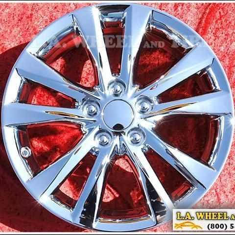 New Lexus ES350 ES330 ES300 17 OEM Chrome Factory Wheels Rims 74224