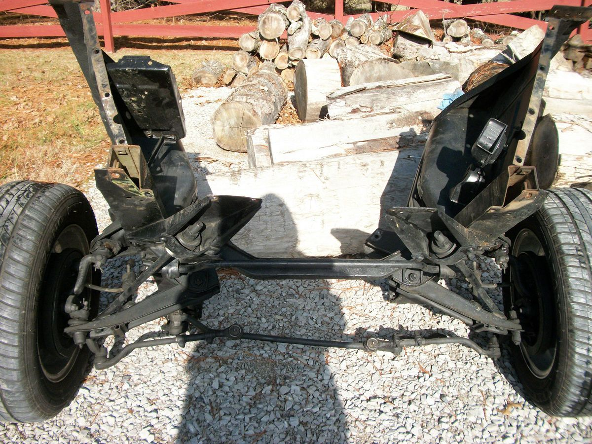 66 67 Chevy Nova Ss Front Suspension Original
