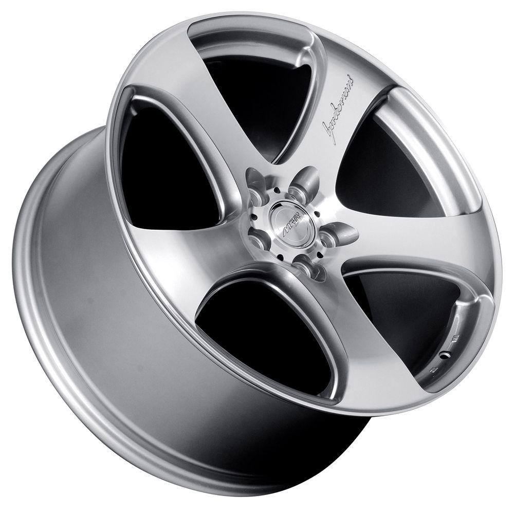 19 MRR HR2 Style Silver Wheels Rims Fit Lexus ES GS LS RX300 SC300