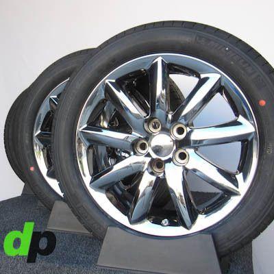 LS460 Factory/OEM EcoDriven Chrome Wheels/Rims & Michelin Tires & TPMS