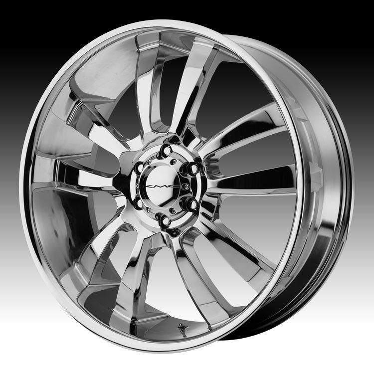 KMC Chrome Wheel Rims 5x150 Toyota Tundra Sequoia Lexus LX 470